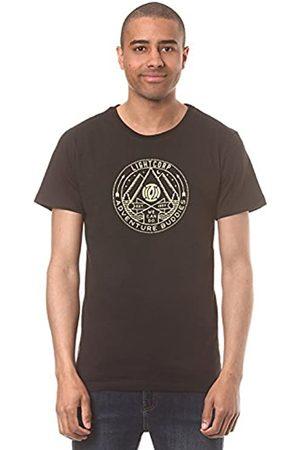 Light Camiseta de Manga Corta para Hombre, Hombre, LSD300/Buddies