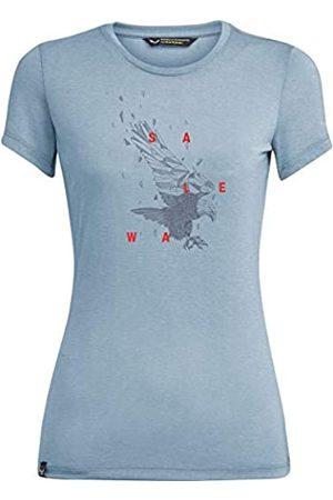 Salewa Eagle Figure Dri-Rel W S/S Camiseta, Mujer
