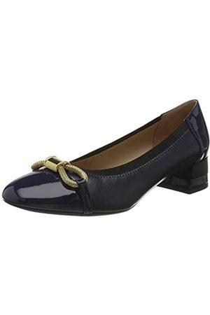 Geox D CHLOO Mid A, Zapatos de Tacón Mujer, (Blue C4000)