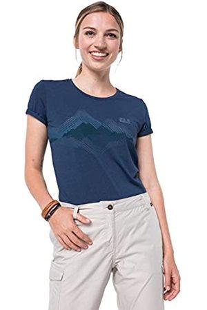 Jack Wolfskin Camiseta para Mujer Crosstrail Graphic T W L