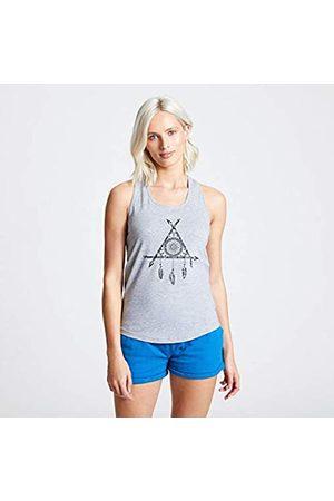 Dare 2B Akin-Camiseta De Tirantes Estampada Y Entallada De Algodón con Espalda Nadadora T-Shirts/Polos/Vests, Mujer