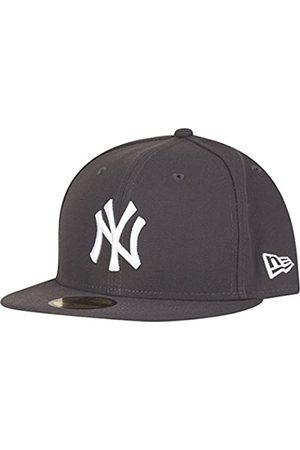 New Era York Yankees 59fifty Cap MLB Basic Graphite/White - 6 7/8-55cm