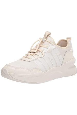 UGG Female LA Daze Shoe, Jasmine / White