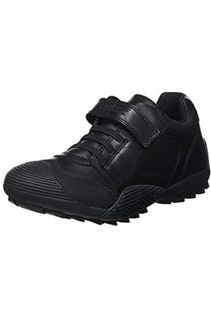 Geox JR Savage B, School Uniform Shoe, (Black)