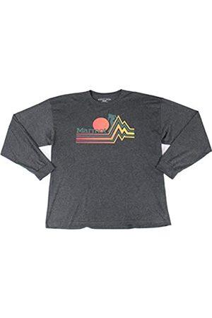 Marmot Piste tee LS - Camiseta de Manga Larga para Hombre, Hombre, 42040-1204-7-XXL
