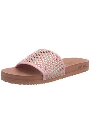 flip*flop Pool Check, Sandalia Mujer, Sucia/Plata 6021