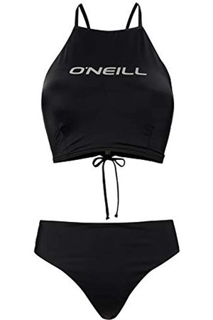 O'Neill PW Soara Maoi Solid Bikini Bikini para Mujer, Mujer, Black out