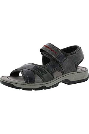 Rieker Hombre Sandalias de Vestir 26154, de Caballero Sandalias de Exterior,Sandalias Deportivas,Zapatos de Verano,Ozean