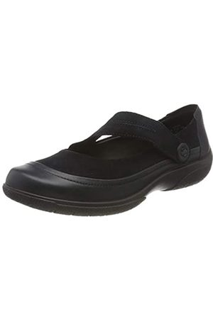 Hotter Glee Wide, Zapatos Planos Mary Jane Mujer
