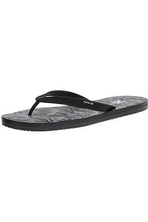 Hurley M One&Only 2.0 Printed Sandal, Flip-Flop Mens, Black/Olive