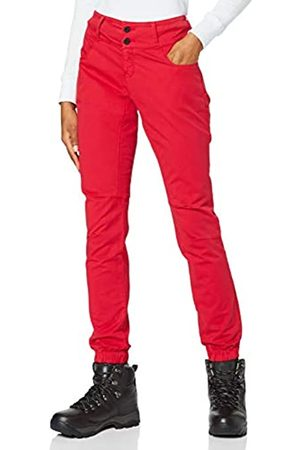 Millet Red Wall Stretch Pant W - Versátiles Pantalones de Escalada para Mujeres - Escalada, Senderismo
