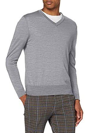 Falke V-Ausschnitt Longsleeve-60126 Camiseta de Manga Larga para Hombre 4XL