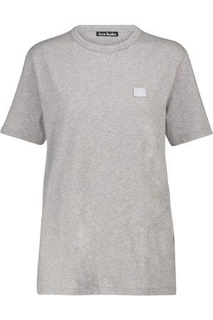Acne Studios Camiseta Face de algodón