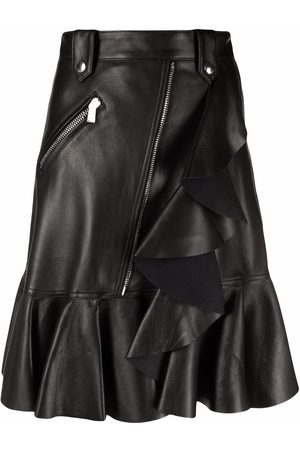 Alexander McQueen Mujer Asimétricas - Falda con dobladillo peplum