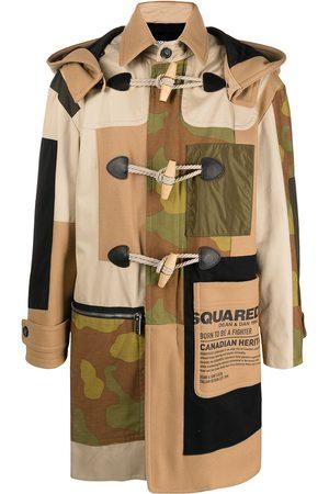 Dsquared2 Abrigo con botones de trenca