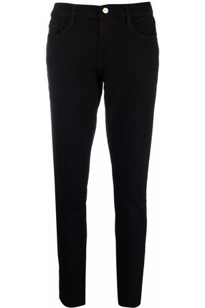 Frame Le Garcon mid-rise skinny jeans