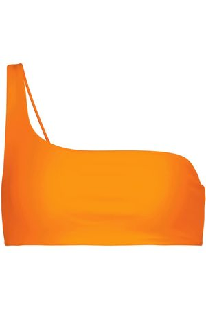 Jade Swim Top de bikini Apex de un solo hombro