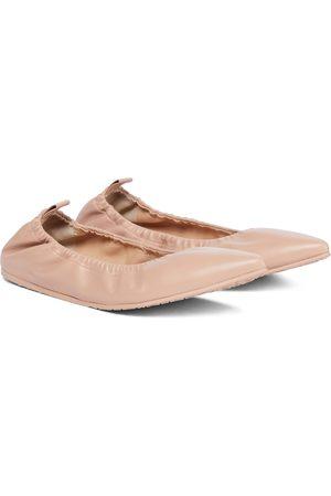 Gianvito Rossi Bailarinas de piel