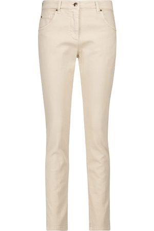 Brunello Cucinelli Jeans skinny de tiro alto