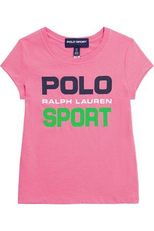 Ralph Lauren Niña Camisetas - Camiseta de algodón con logo