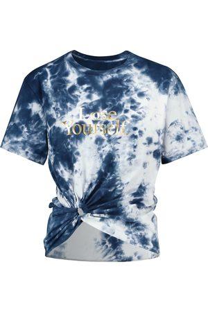 Paco rabanne Mujer Manga corta - Camiseta de algodón con tie-dye