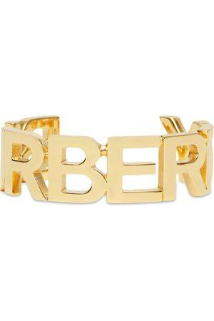 Burberry Pulsera con letras del logo