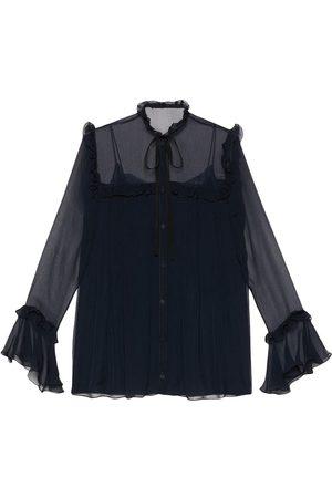 Gucci Mujer Camisas - Camisa con detalle de volantes