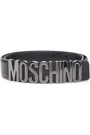 Moschino Cinturón con letras del logo