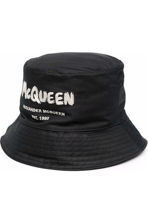 Alexander McQueen Hombre Sombreros - Sombrero de pescador McQueen Graffiti