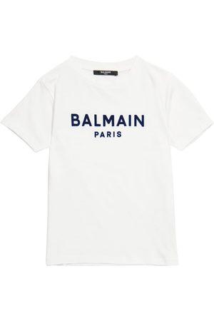 Balmain Camiseta de algodón
