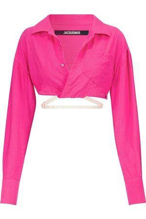 Jacquemus Exclusivo en Mytheresa - camisa corta La Chemise Laurier