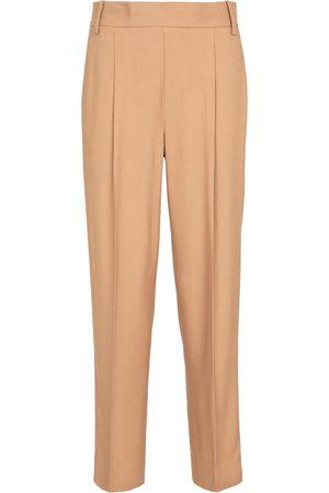 Vince Mujer Pantalones de talle alto - Pantalones rectos de tiro alto