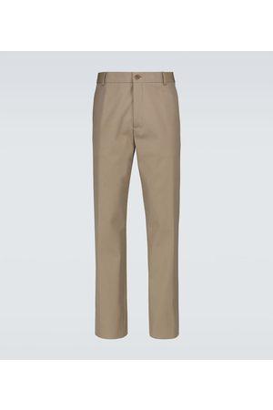 Loro Piana Pantalones chinos de algodón y lana