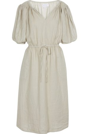 Velvet Vestido midi forrado Susannah