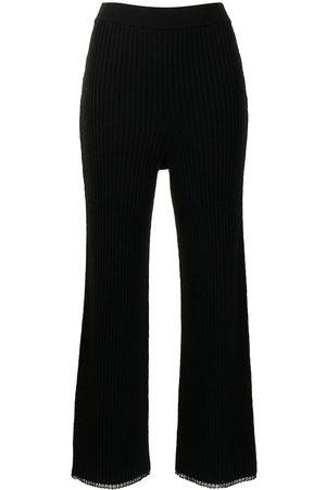 PROENZA SCHOULER WHITE LABEL Pantalones de punto de canalé