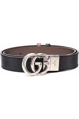 Gucci Hombre Cinturones - GG Marmont reversible belt