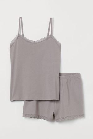 H&M Pijama corto de dos piezas