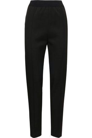 Jil Sander | Mujer Pantalones Rectos De Gabardina De Lana Ligera 34