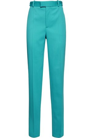Bottega Veneta | Mujer Pantalones En Espiguilla Stretch 36