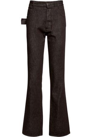 Bottega Veneta Mujer Cintura alta - | Mujer Jeans Truffle De Denim De Algodón 36