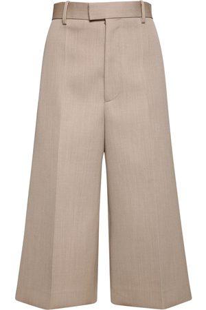 Bottega Veneta | Mujer Pantalones Cropped De Lana Ligera 36