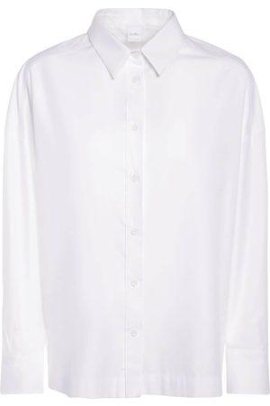 Max Mara Mujer Camisas - | Mujer Camisa De Sarga De Algodón 36