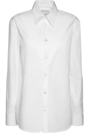 Bottega Veneta | Mujer Camisa Compacta De Popelina De Algodón 36