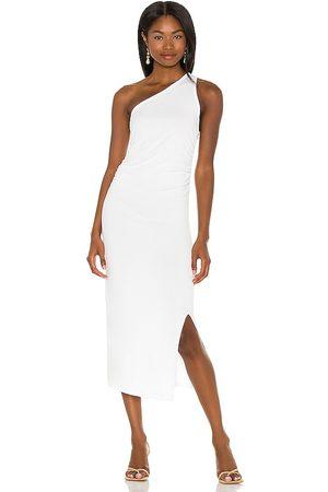 LnA Vestido ariel en color talla L en - White. Talla L (también en XS, S, M).