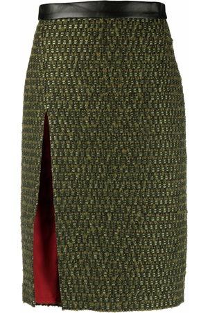Dsquared2 Mujer Midi - Falda de tweed midi