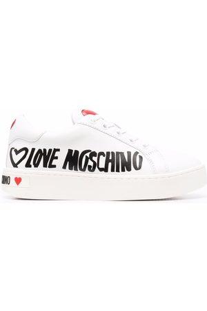 Love Moschino Zapatillas con motivo de corazón