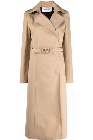 Valentino VLogo Signature belted trench coat