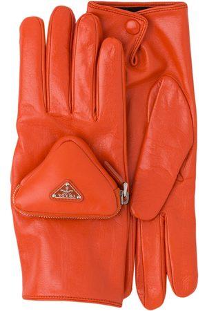 Prada Cinturón con bolso de mano y logo