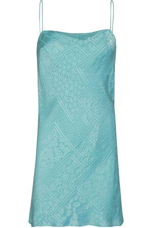 ROTATE | Mujer Vestido Mini Line De Satén De Mezcla De Viscosa 34