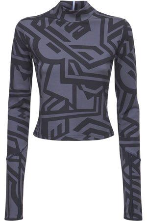 McQ | Mujer Top Dazzele De Jersey Estampado /negro Xs